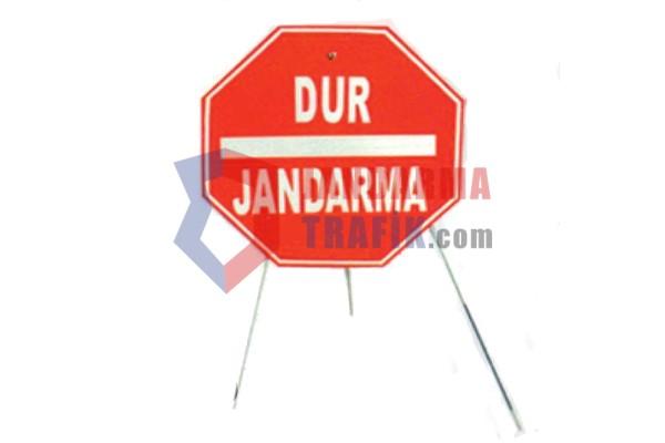 Dur-Jandarma-Levhası-Seyyar-Ayaklı