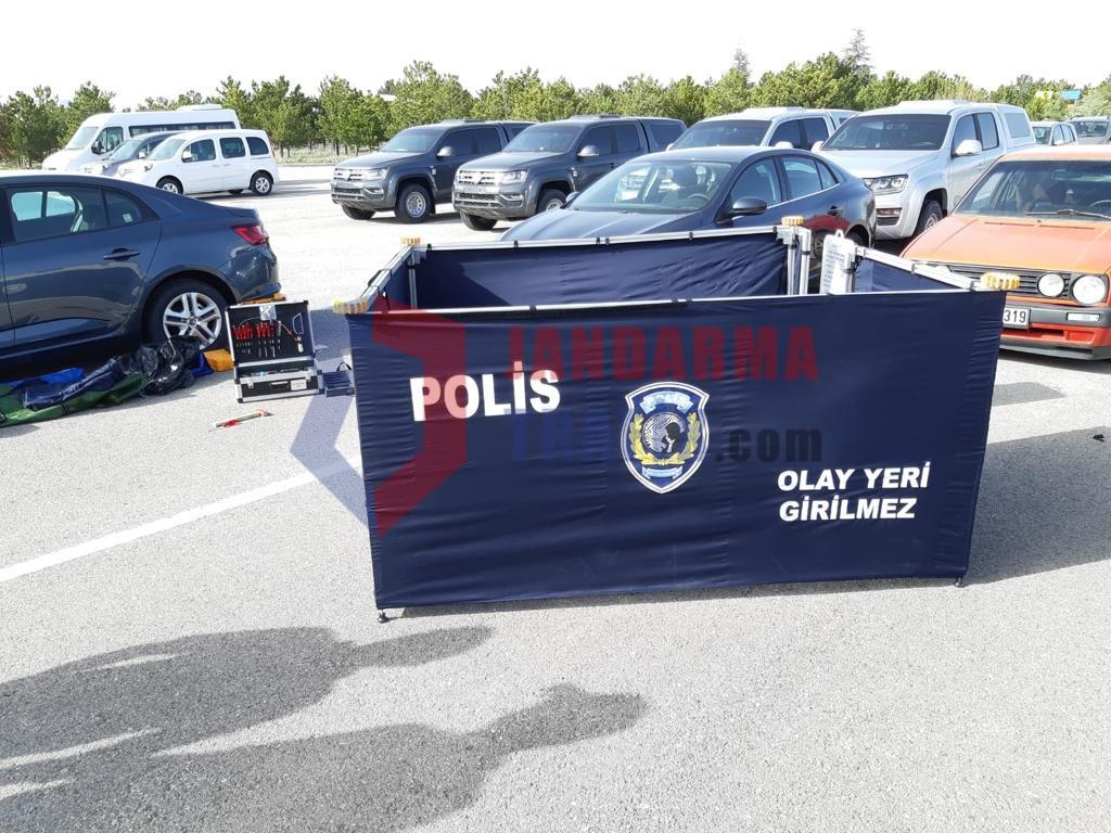 Açık Alan Çadırı Polis